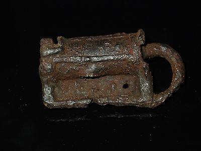 Fine  Viking Iron  padlock. c 800-1000 AD 10