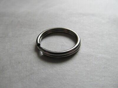 """20mm 316 Stainless Steel Key Rings HEAVY DUTY Split Fishing Scuba 10 pack 3/4"""" 4"""
