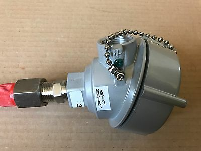 REOTEMP 1010PAE Explosion Proof Thermocouple Head With Sensor TCXT4PR  2-WIRE PR 4