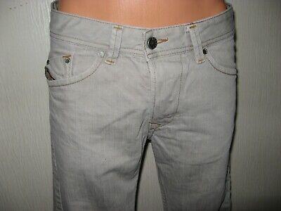 Hardly Worn Boys Pale Grey Diesel Darron Slim Fit Skinny Leg Jeans Age 13-14-15 8