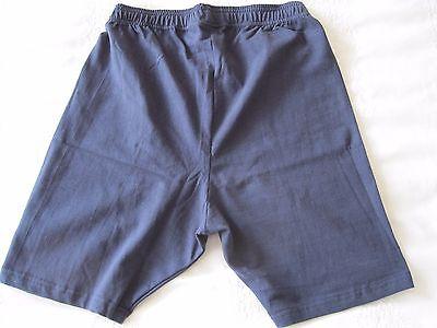 "Girls/Ladies Cycle Shorts NAVY size M (32-34"" Waist) Cotton/Elastane UK Made NEW 4"