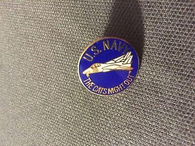 """Hat Metal Pin 2-1//4/"""" US Navy F-14 Tomcat Large Pewter Lapel"""
