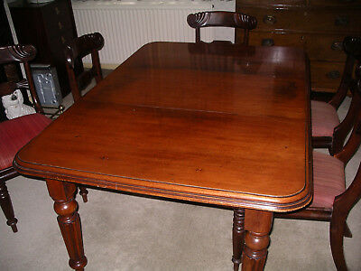 Victorian mahogany wind out dining table. Lovely patina 5