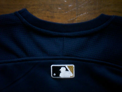 MILWAUKEE BREWERS NEW MLB MAJESTIC AUTHENTIC THERMA BASE TECH FLEECE