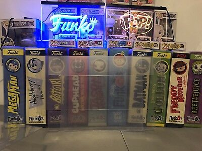 5 Pack Funko Pop! Cereal 0.50mm Plastic Box Protectors Case Fits All New Funkos 9