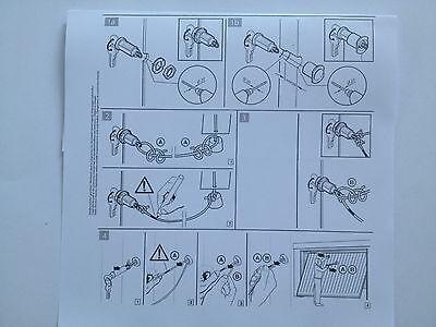 Notentriegelung Schwingtor Kipptor Sectionaltor Sektionaltor Hörmann Novoferm