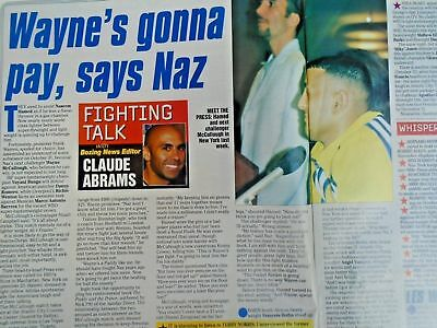 BOXING NEWS - 2nd oct 1998 - herbie, paul, lewis holyfield, naz free p&p to uk 3