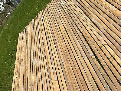 Bamboo Slat Fencing Screening Rolls 4M Garden Outdoor Privacy - Best Artificial 5