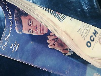 Vtg. Magazine back Issue The Illustrated Weekly Of India 1965 THE KENNEDY THEME