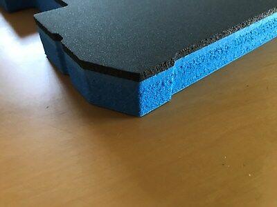 0,2m² Hartschaumstoff LD29-30mm # 40x50cm Werkzeugeinlage Koffereinlage Foam