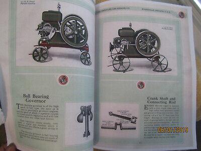 Hercules 1 1/2-12HP Gas Engine Color Information Catalog 3