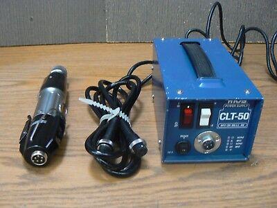 Hios Mountz Cl-6500 Torque Limiting Power Screw Driver & Clt-50 Power Supply 8