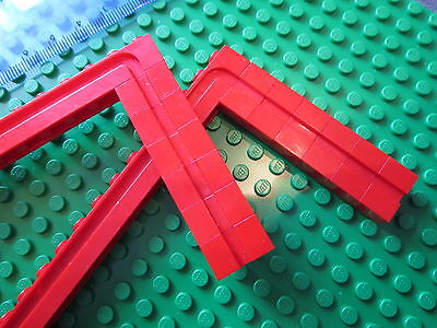 LEGO 18 x Sliding Garage Door  Shutter Modified Grooved Bricks 1x14 /& 1x2 WHITE