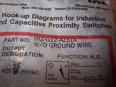Turck Inductive Proximity Sensors Wiring Diagrams. Position Sensor on
