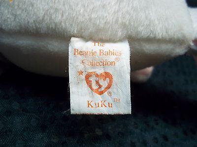 """TY Beanie Babies 7"""" Tall Bird ** KUKU **"""