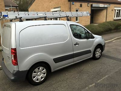 To Fit 2016 - 2019 Citroen Berlingo Steel Roof Rack Bars Rails 3 Bar System Set 7