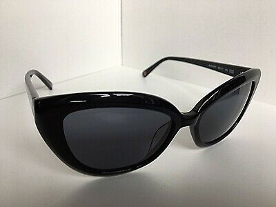 ef376e0c24e6 ... New LOVE MOSCHINO ML543S 01 56mm Black Cat Eye Women's Sunglasses 5