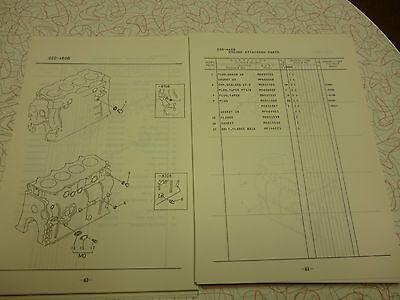 mitsubishi 4d31 4d31 t parts manual 65 00 picclick rh picclick com Mitsubishi Lancer Automatic or Manual Mitsubishi Montero Engine Manual