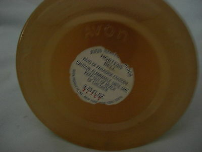 Vintage 1979 Avon Heavenly Cherub Hostess Bell Frosted Glass Bottle