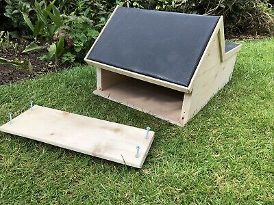Hedgehog House,Wooden Handmade Hibernation Home.Ref4. 6