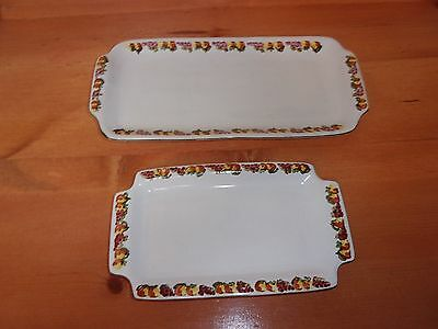 Two Vintage Chilean Pottery Serving Trays ~Signed By Artist~ Mint