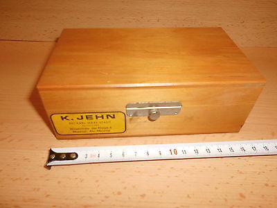 Gewichtssatz mit 10 Messinggewichten 1-200g und 11 AL Gewichte mg Bereich, gebr.