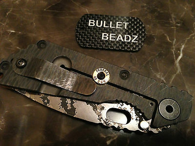 Federal 40 S/&W Bullet Lock Bar Stabilizer made to fit Strider SnG /& SMF Knives