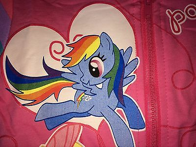 New My Little Pony Hoodie PINK  2,3,4,5,6,7 YEARS JACKET Rainbow Dash twighlight 4