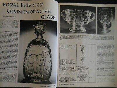 Antiques Journal 1979 American Rag Dolls Inro Royal Brierly Commemorative Glass