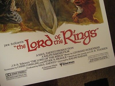 """Lord of the Rings ( 11"""" x 17"""" )  Movie Collector's Poster Prints ( Set of 2 ) 4"""