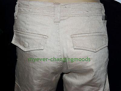 Calvin Klein Unisex Jeans 28 Waist 33 Inside Leg Stone Cream New Unworn Rrp £154 7