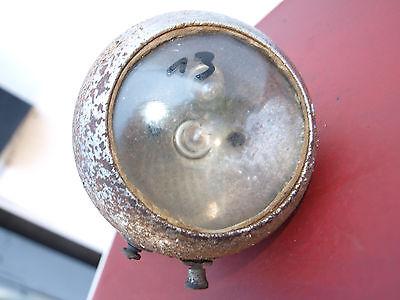 13# IMPEX FAHRRAD Scheinwerfer Lampe Vorkrieg Chrom Oldtimer
