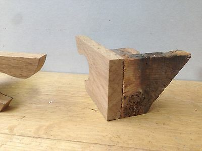 Oak Bracket Feet for Antique Longcase Clock, fantastic quality with period Oak!