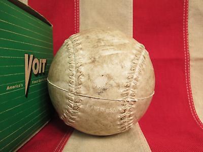 Vintage VOIT Gummi Co. früh J112 Softball 30.5cm AMF OVP Baseball