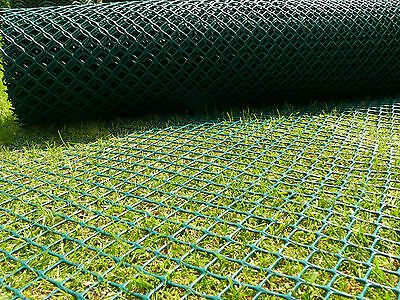2X30M GRASS REINFORCEMENT Mesh Driveway Car Park Ground Protection Lawn Mat