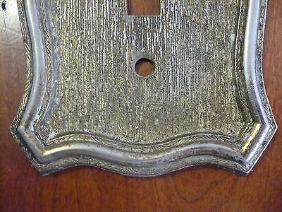 Ornate Vintage Victorian American Tack & Hd Single Light Switch Plate Cover 1968 2