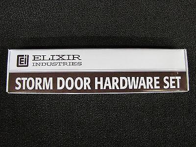 Mobile Home Storm Door Hardware Kit White