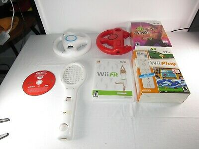 Box Of Misc Wii Stuff 2
