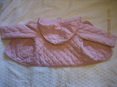 Baby Gap Lovely Pink  Quilted Spring/Summer Lightly Padded Coat Jacket  2T(#090) 4