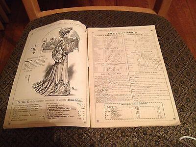 Unione Delle Fabbriche (Primavere Estate 1904) Napoli..Agenda Almanacco (Rare) 2