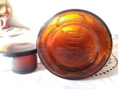 Apothekerflasche;Tetracain. hydrochl.;1 ltr.;braunglas;geschl. Stöpsel;Loft;Deco 3