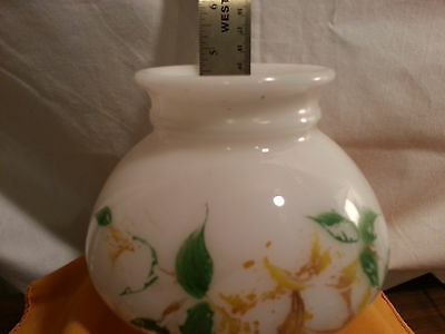 Vintage Glass Globe Lamp Light Fixture 2