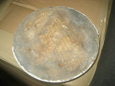 """LARGE victorian age CIRCULAR medallion embellishments OLD paint 6.25"""" dia x 1.25 3"""