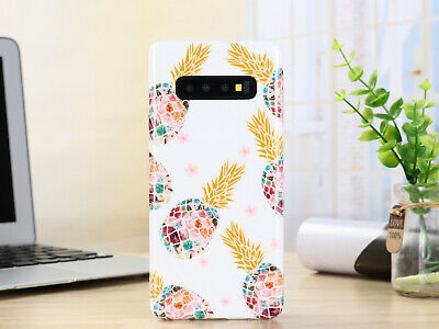For Samsung Galaxy Note 10 Plus S10 Plus S10e Flower Clear Silicone Case Cover 11