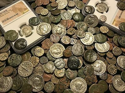 ✯Ancient Coin Estate Lot ✯ Roman Greek Byzantine✯ Bronze Silver Gold BC Money ✯