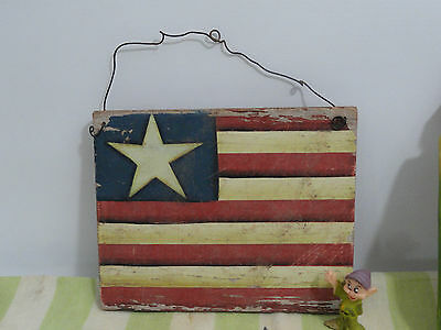 Collectible Trunk Find Kellogg's Rosters, Old Wooden Flag of Texas  Cannon Linen 4