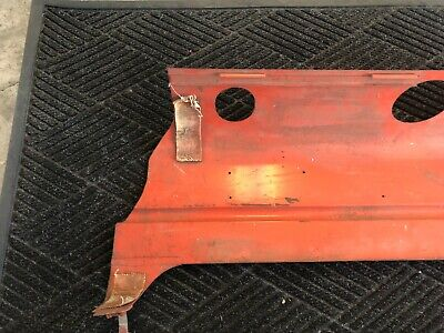 *NEW OEM* 0205P3 Allis Chalmers D17 Tractor Right Side Hood 70236595 2