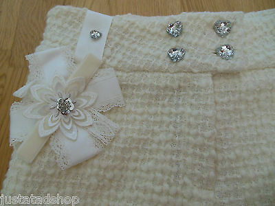 Little Darlings girl smart party special occasion shorts 7-8 y  BNWT designer 3