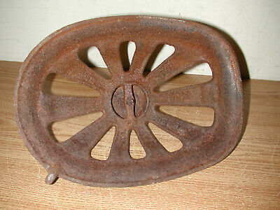 Antique Vintage Victorian Style Rusty Iron/metal Heater Cover Grate 8