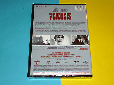 PSICOSIS + LA VENTANA INDISCRETA + LOS PAJAROS Psycho + Rear window + The Birds 4